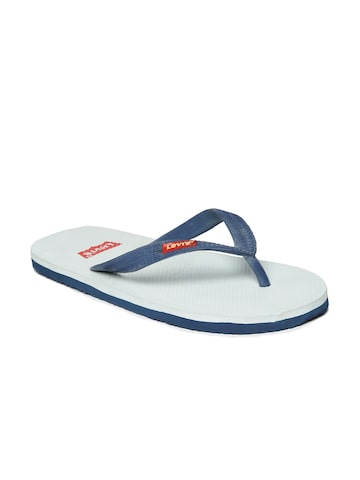 Levis Men Navy Blue Flip-Flops at myntra