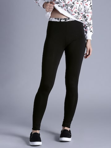 Kook N Keech Black Leggings at myntra