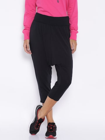 PUMA Black Capris at myntra