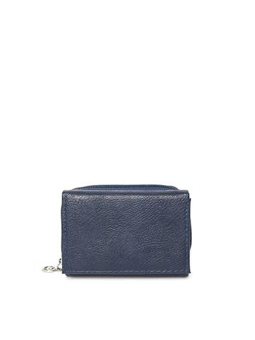 Lisa Haydon for Lino Perros Women Blue Textured Wallet at myntra