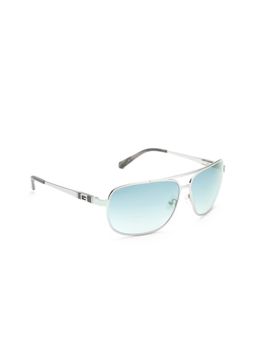 GUESS Unisex Rectangular Sunglasses 6813 SI-48F at myntra