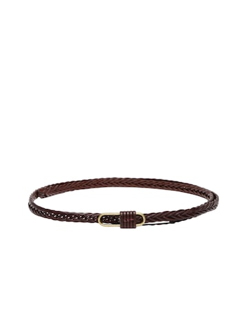 DressBerry Women Brown Braided Belt at myntra