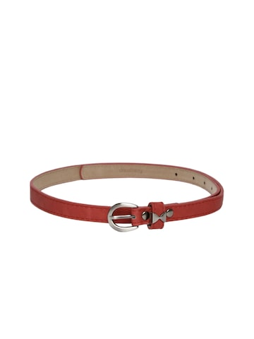 DressBerry Women Red Belt at myntra