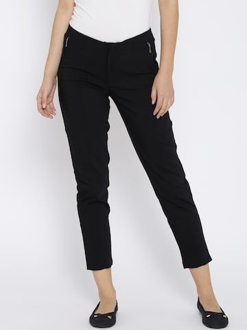 Vero Moda Black Treggings at myntra