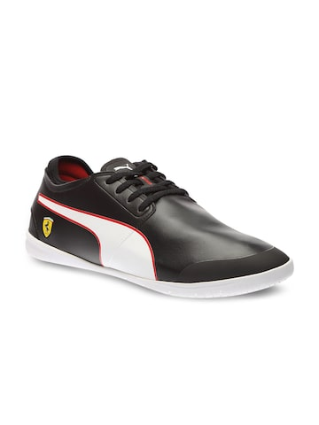 Puma Men Black Changer Ignite SF L H2T Sneakers at myntra