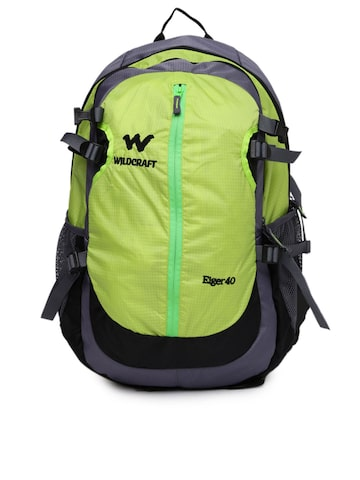 Wildcraft Men Green & Grey Eiger Rucksack at myntra