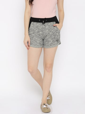 Being Human Women Black Regular Fit Shorts at myntra