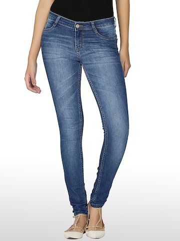 Kraus Jeans Women Blue Skinny Fit K3006 Jeans at myntra