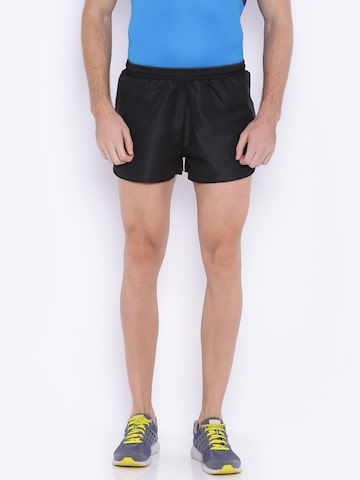 Proline Active Men Black Solid Sports Shorts at myntra