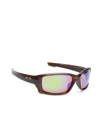OAKLEY Men Mirrored Rectangle Sunglasses 0OO933193310658 at myntra