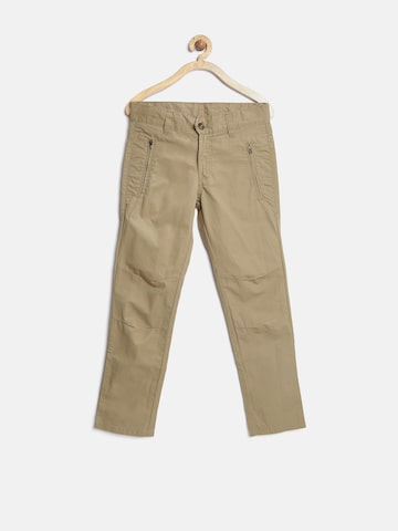 United Colors of Benetton Boys Beige Trousers at myntra