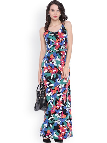 Avirate Women Multicoloured Printed Maxi Dress at myntra