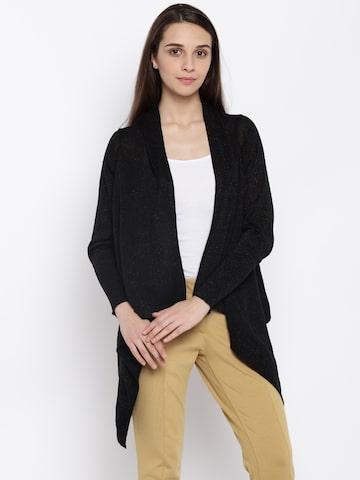 Park Avenue Black Shrug at myntra