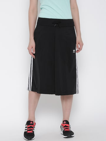 Adidas Originals Black Culottes at myntra