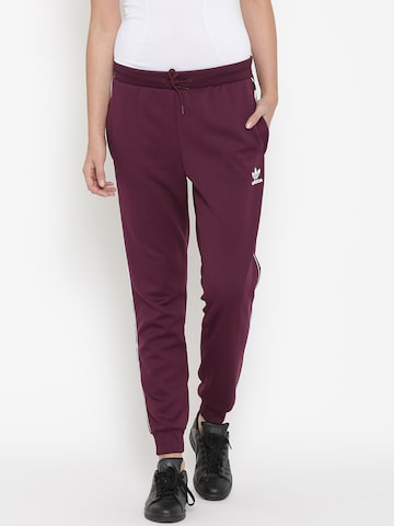 Adidas Originals Burgundy New York 1986 Track Pants at myntra