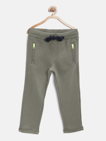 United Colors of Benetton Boys Grey Track Pants at myntra