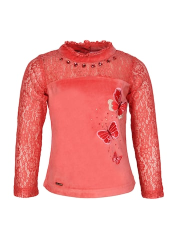 CUTECUMBER Girls Red Solid Regular Top at myntra