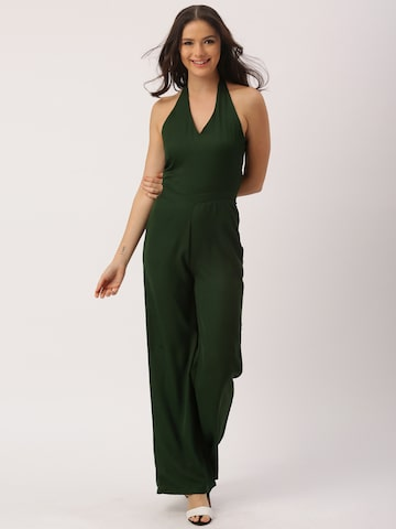 DressBerry Green Jumpsuit at myntra