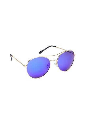 DressBerry Women Round Mirrored Sunglasses MFB-PN-TSD-2956-2 at myntra
