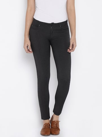 ONLY Grey Treggings at myntra