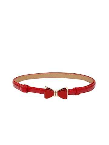 DressBerry Women Red Bow Detail Belt at myntra