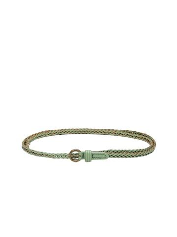 DressBerry Women Green & Beige Braided Belt at myntra