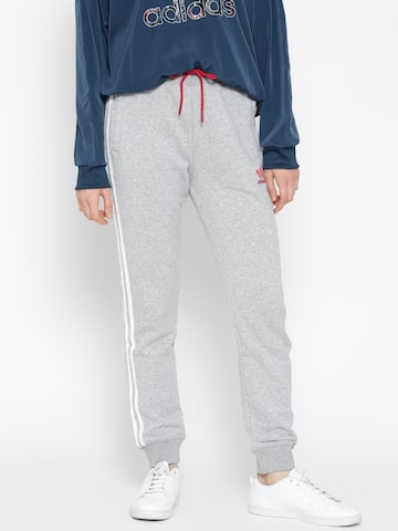 Adidas Originals Grey Melange PW HU SS Track Pants at myntra