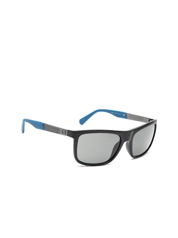 GUESS Unisex Rectangle Sunglasses 6843 02D at myntra
