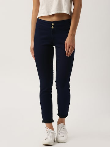 DressBerry Blue Jeggings at myntra