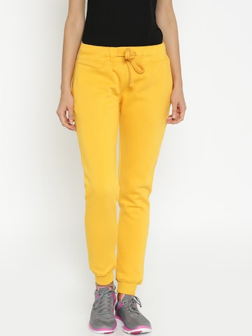 Proline Active Yellow Track Pants at myntra