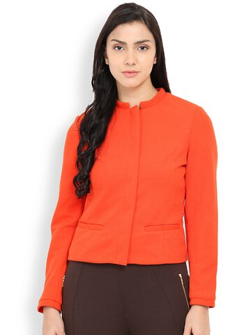 Gipsy Rust Orange Jacket at myntra