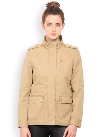Gipsy Beige Jacket at myntra