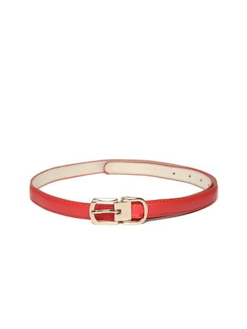 Lino Perros Women Red Belt at myntra