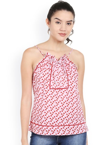 Style Quotient Women White Printed Top at myntra