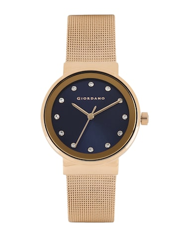 GIORDANO Women Navy Analogue Watch FA2047-44 at myntra
