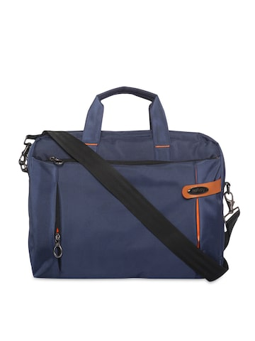 Bendly Unisex Blue Laptop Bag at myntra