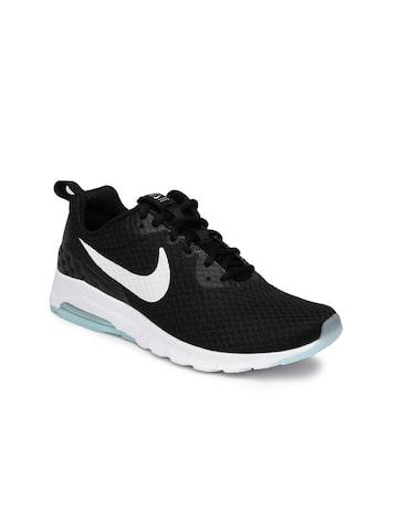 Nike Women Black Air Max Motion Sneakers at myntra
