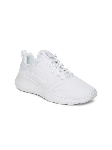 Nike Women White Nike Kaishi 2.0 Sneakers at myntra