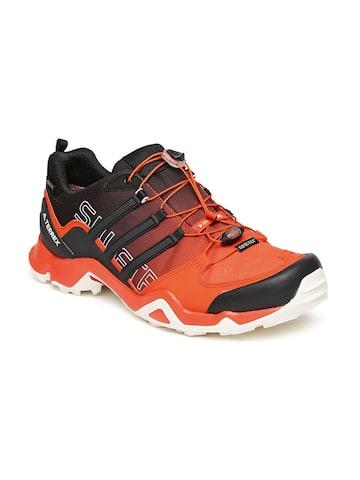 Adidas Men Black Terrex Swift Gore-Tex Trekking Shoes at myntra