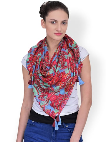 Citypret Multicoloured Printed Stole at myntra