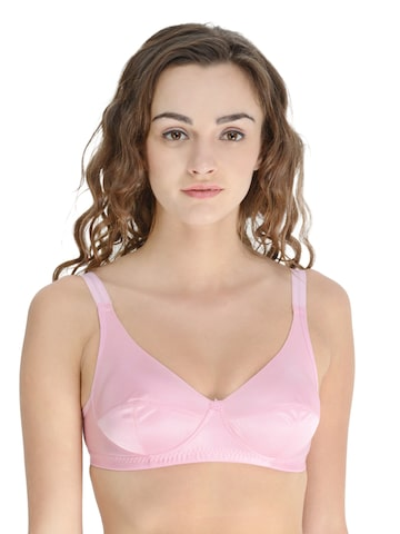 Da Intimo Pink Full-Coverage Bra DI-742 at myntra