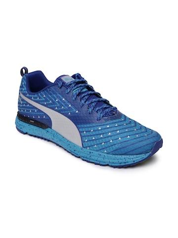Puma Men Blue Speed 300 TR IGNITE Running Shoes at myntra