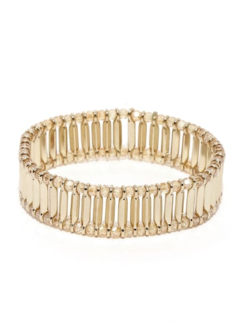 Accessorize Gold-Toned Bracelet at myntra