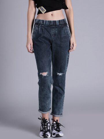 Kook N Keech Women Blue Jeans at myntra