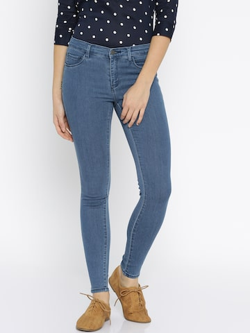 ONLY Blue Jeggings at myntra