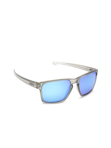 OAKLEY Men Polarised Mirrored Shield Sunglasses 0OO930793070832 at myntra