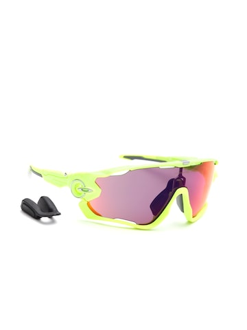 OAKLEY Men Mirrored Shield Sunglasses 0OO938693860538-938605 at myntra