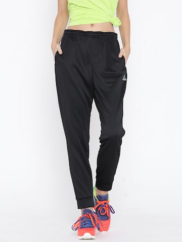 Reebok Black Jogger Running Track Pants at myntra