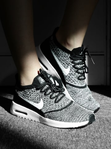 Nike Women Black & White AIR MAX THEA ULTRA FK Sneakers at myntra