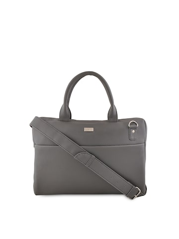 yelloe Unisex Grey Laptop Bag at myntra